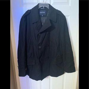 Men's Nautica pea coat size XLT